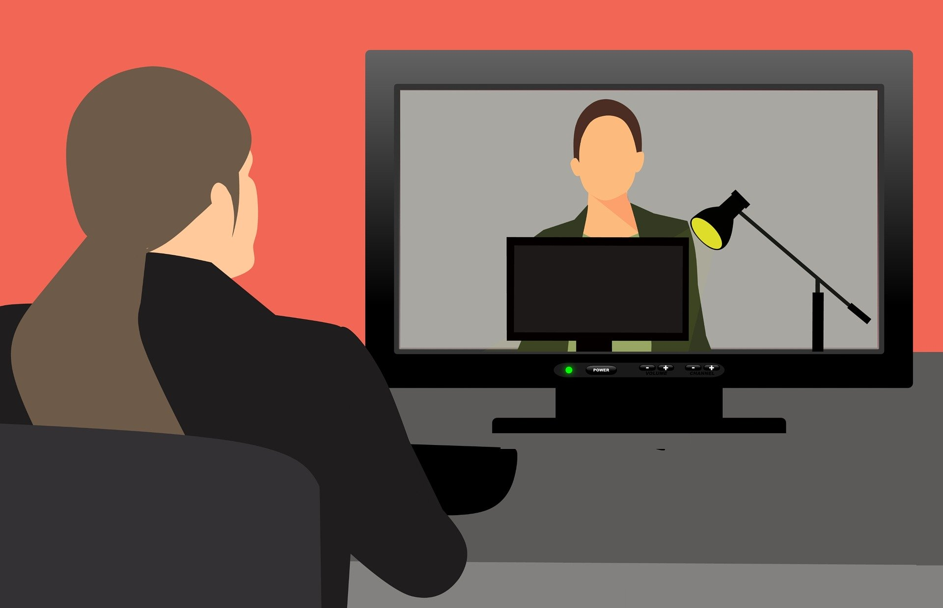 Web会議システムを利用する人